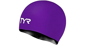 TYR Silicone Cap Reversible - Lilla