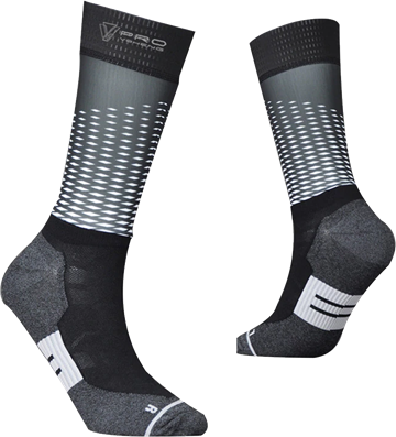 TeamSocks Pro - Square Black