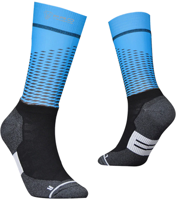 TeamSocks Pro - Square Blue