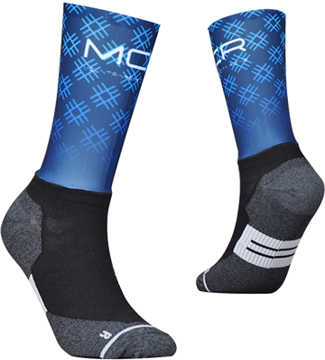 TeamSocks MCR - Blue Squares