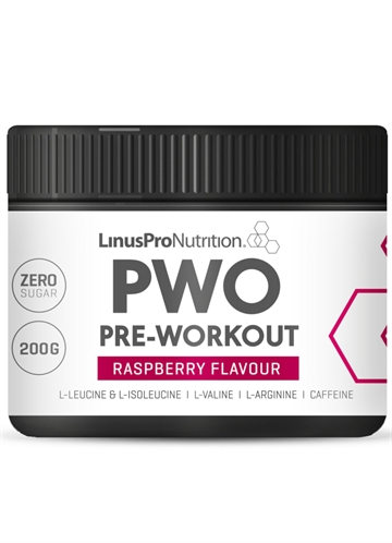 LinusPro PURE PWO Hindbær 200 G