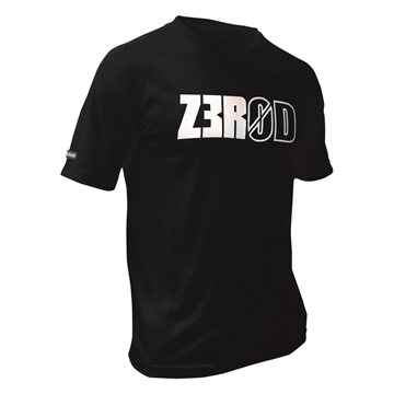 ZEROD Technical T-Shirt - Black m Print